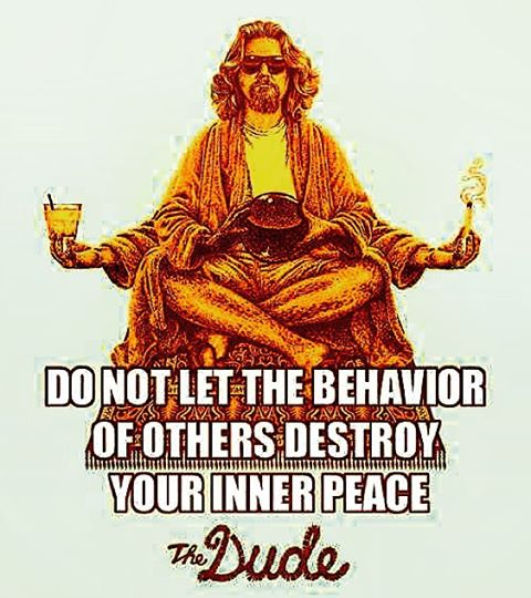 Words of wisdom from the Dude come down on Fridayhellip
