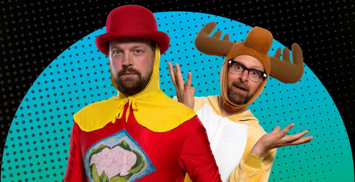 MAD ETIQUETTE PRESENTS CAPTAIN CAULIFLOWER AND MARVIN THE MISCHIEVOUS MOOSE