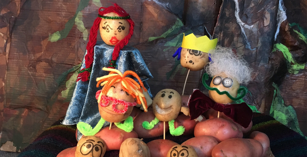6FOOTSTORIES PRESENTS…THE POTATO PUPPET PLAYGROUND